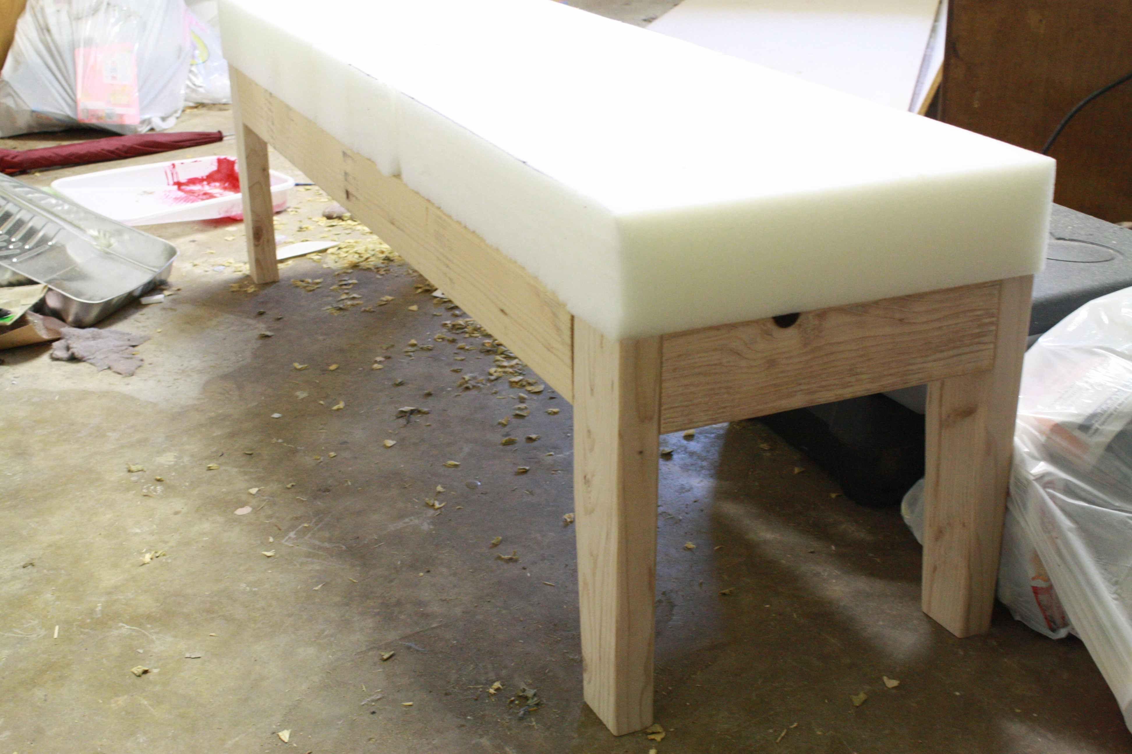 Knocked Off Upholstered Bench Upholstered Bench Furniture