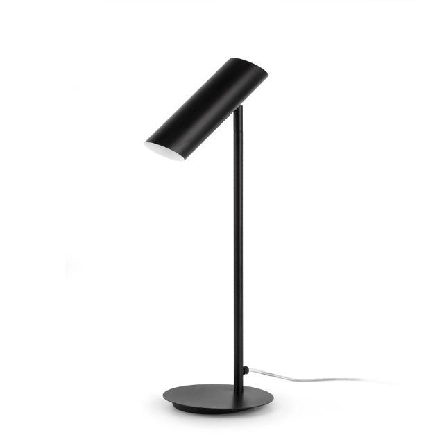 Lámpara de mesa negra moderna #lamparas #iluminacion #interiorismo ...