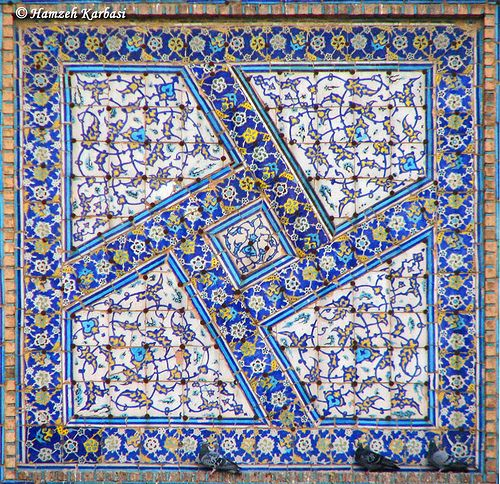 Islamic patterns.