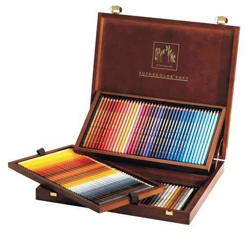 Supracolor Colored Pencil Set Of 120 Wood Box Caran d'Ache http://www.amazon.com/dp/B004O7EODY/ref=cm_sw_r_pi_dp_itWavb0SX0910