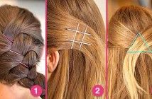 15 truques usando grampos para cabelo.