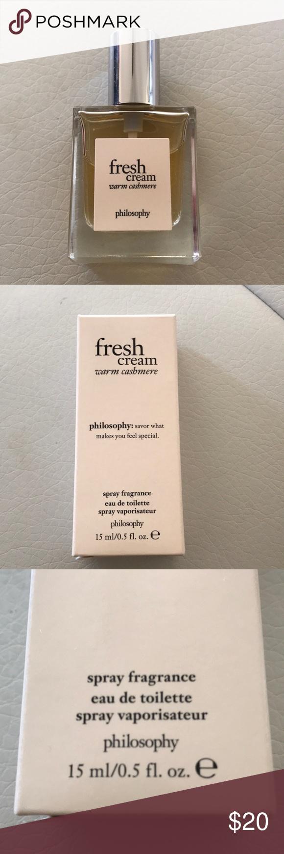 Philosophy Fresh Cream Nib Philosophy Fresh Cream Fresh Cream Cream
