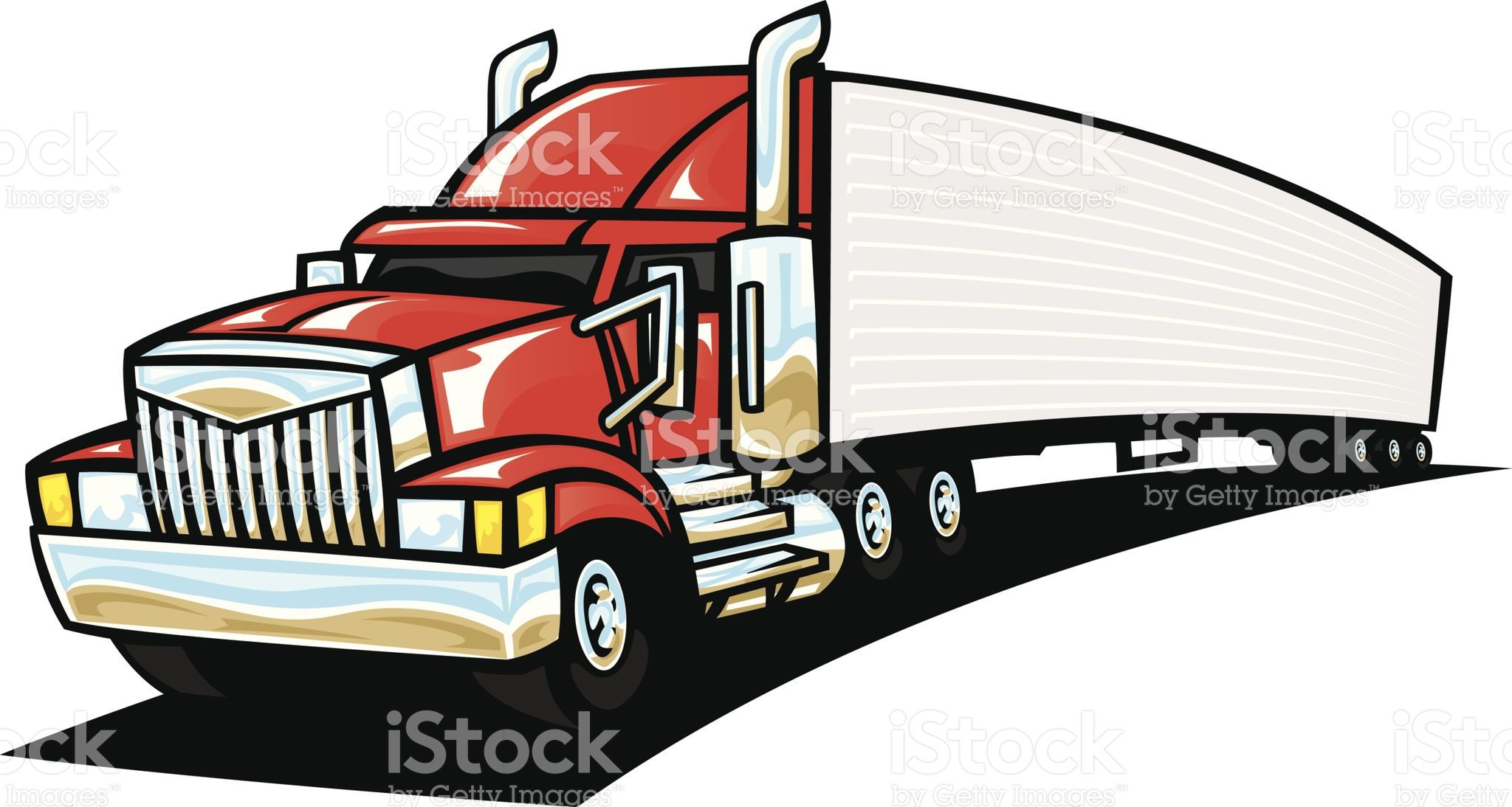 Garage Semi Truck And Grain Trailer With Images Vinyl Window
