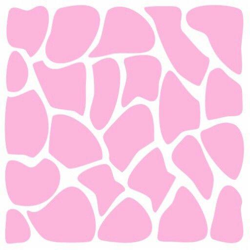 Pink Giraffe Print Background