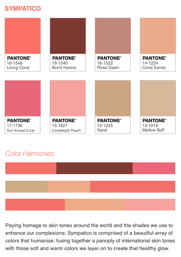 how to use the pantone color of the year 2019 we have created five different color palettes. Black Bedroom Furniture Sets. Home Design Ideas