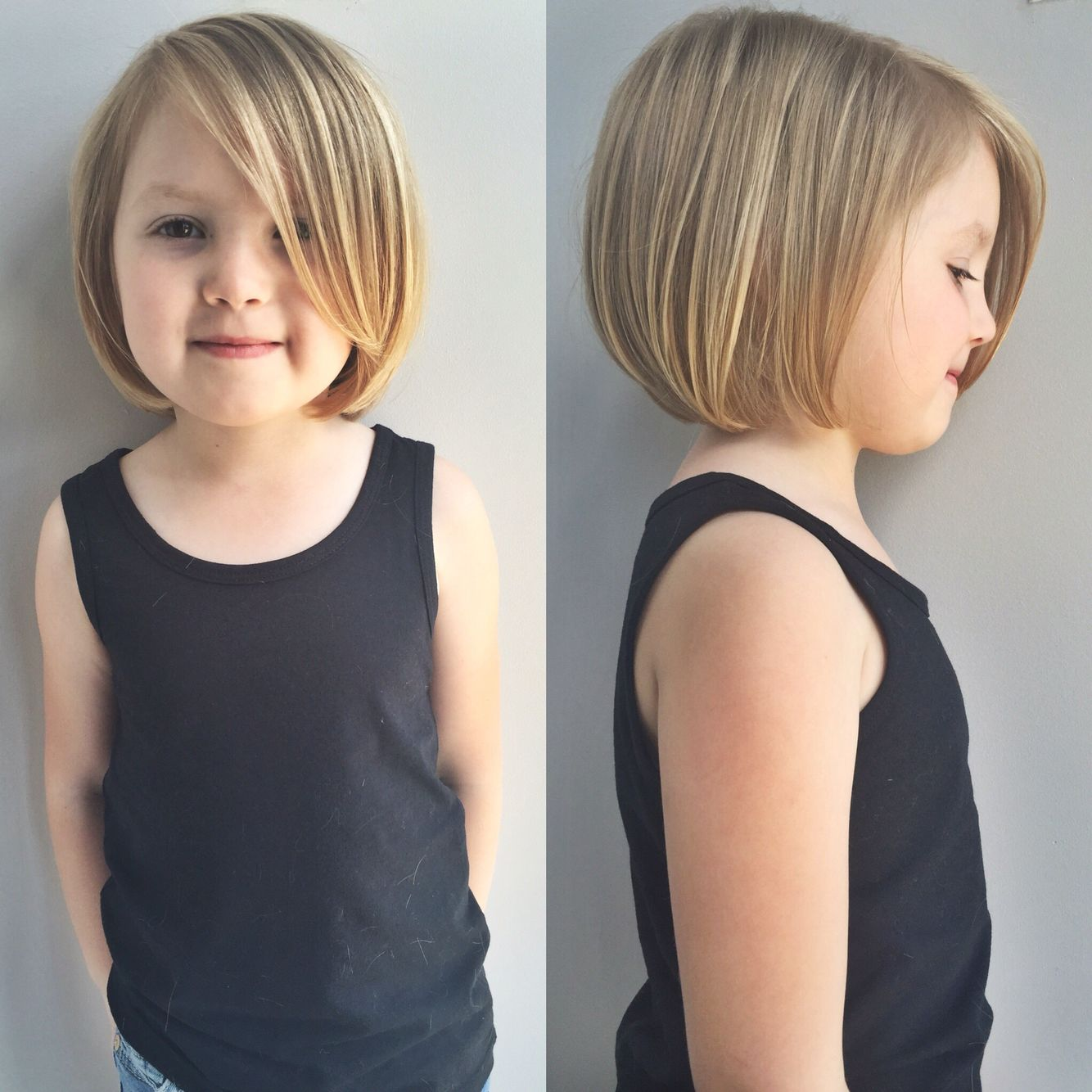 Kids Hairstyles. Little Girls Haircut. Kids Haircut