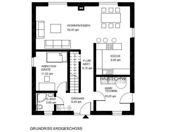 Bildergebnis für offener grundriss Architektur Pinterest Searching - offene kuche wohnzimmer grundriss