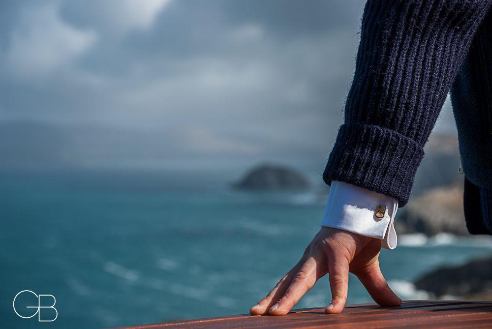 Custom Cufflinks - Cliffs - Ireland - Sea
