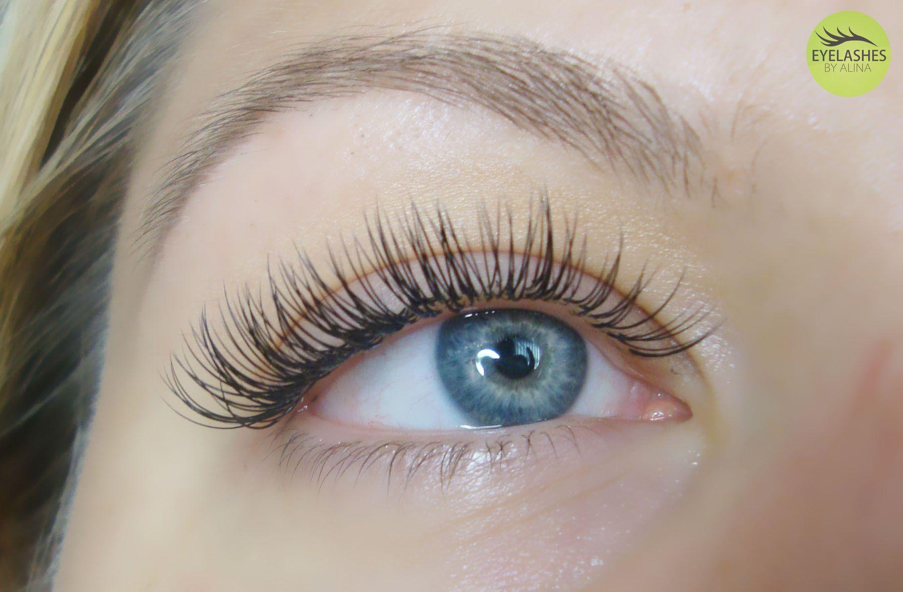 Eyelash Extensions Full Set Eyelashesbyalina Eyelashes By