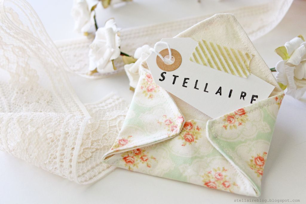 stellaire fabric envelope