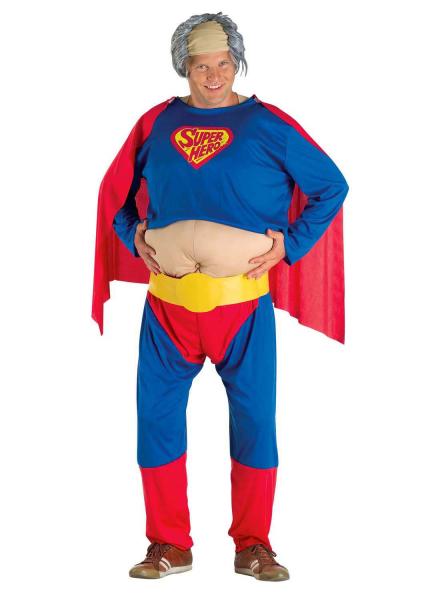 lustiges superhelden kost m f r erwachsene superhero. Black Bedroom Furniture Sets. Home Design Ideas