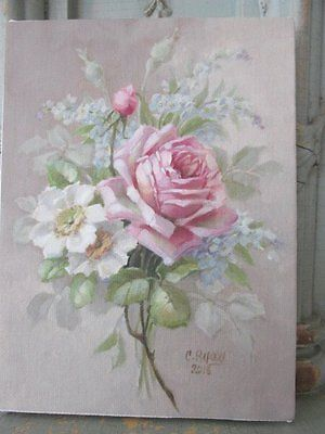 Gorgeous Christie Repasy Canvas Print Single Pink Rose