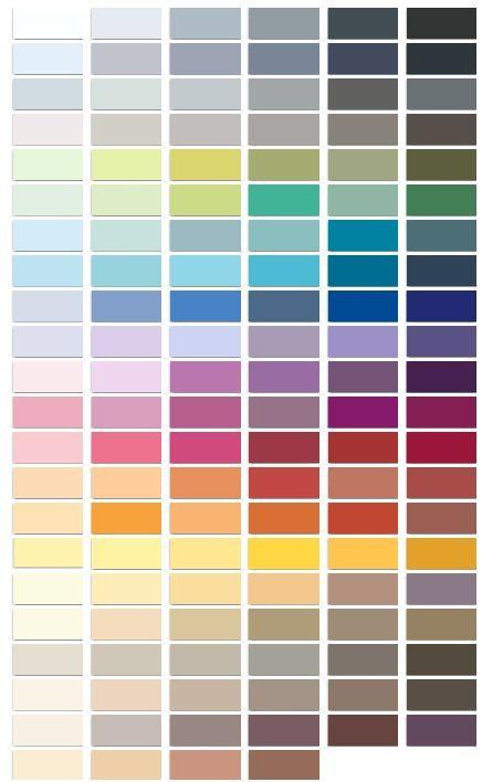 Nuancier dulux couleur dophin pinterest saint valentin for Peinture colours nuancier