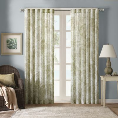 Buy Harbor House 63 Inch Palm Sheer Window Curtain Panel In