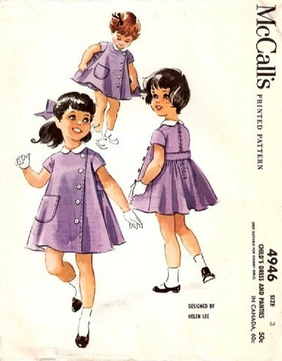 Lee 4946 By 1959Sewing Mccall's © Patern Helen Vintage dorCBexW
