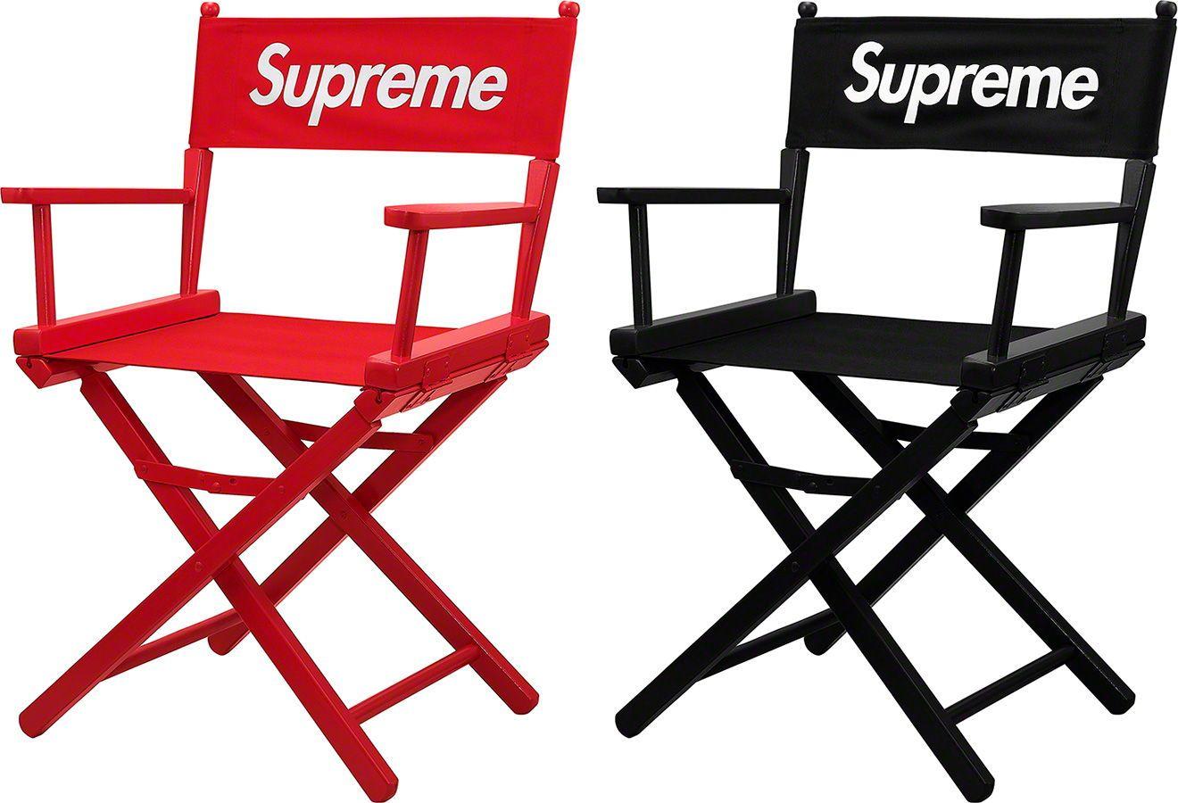 outdoor directors chair black