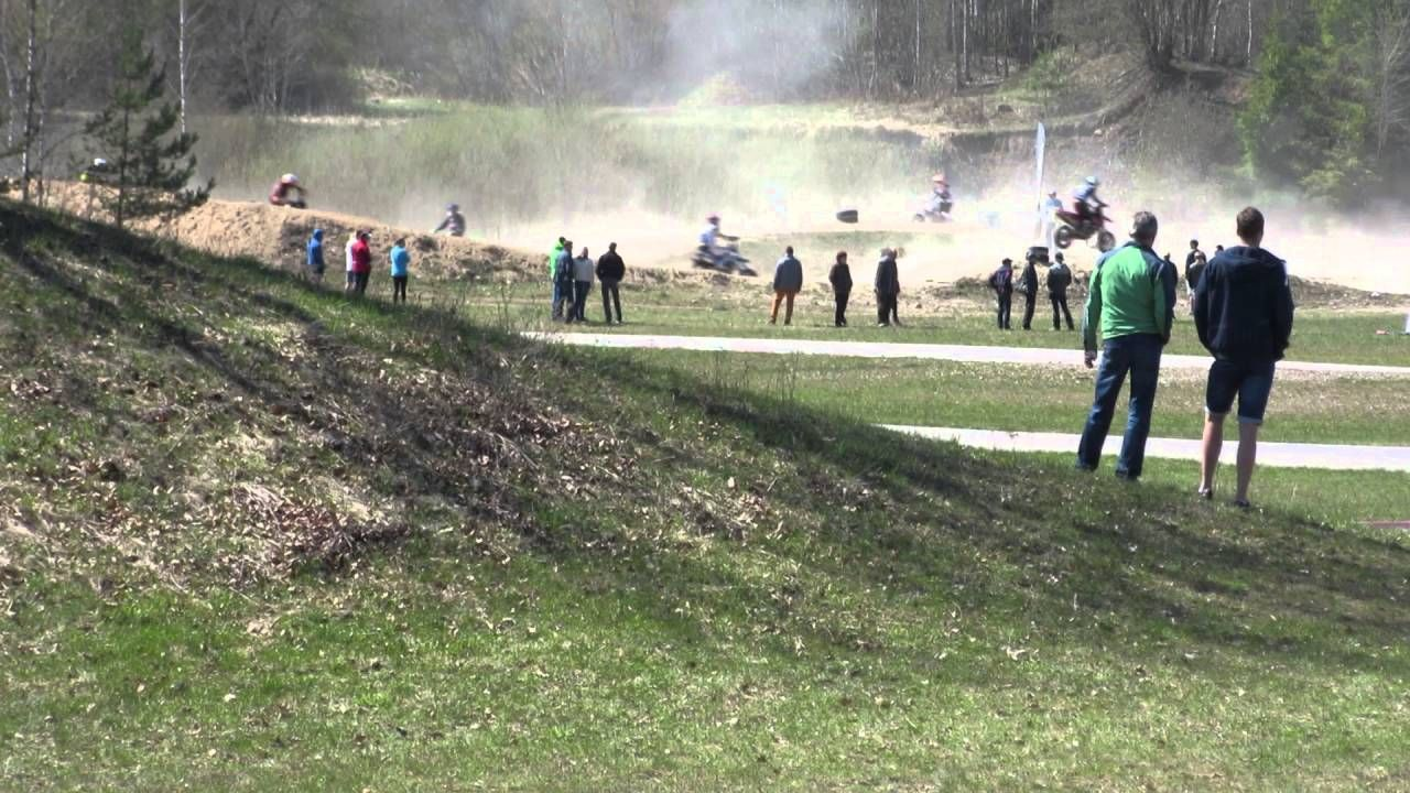 harjoittelua Madonassa, Latviassa keväällä 2016
