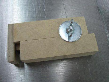 voici une petite jauge facile fabriquer et extr mement utile pour calibrer la largeur de coupe. Black Bedroom Furniture Sets. Home Design Ideas