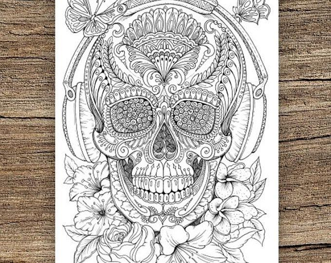 Lantern - Printable Adult Coloring Page from Favoreads (Coloring book pages for adults, Coloring sheets, Coloring designs)