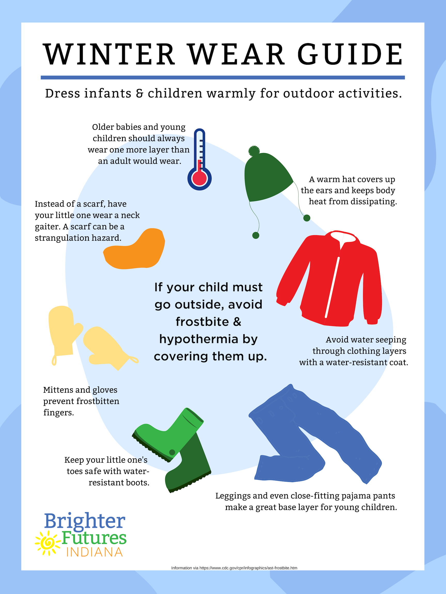 Cold Weather Safety For Children Birth To Five