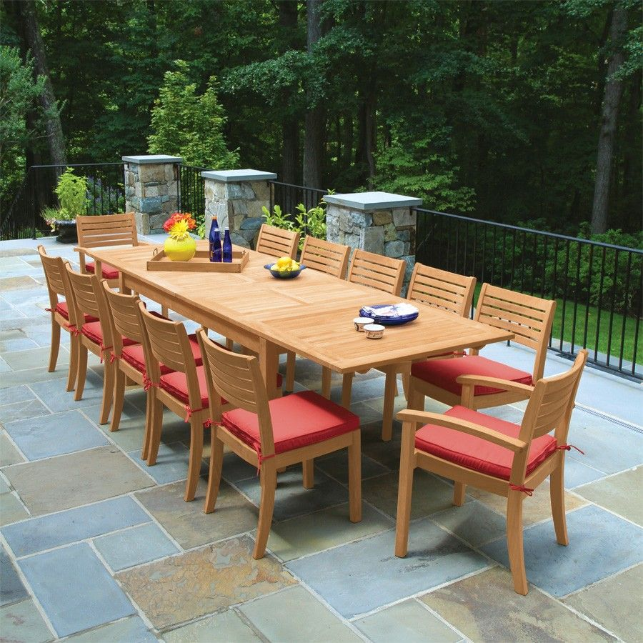 Teak Dining Tables   Calypso® Extension Table | Country Casual