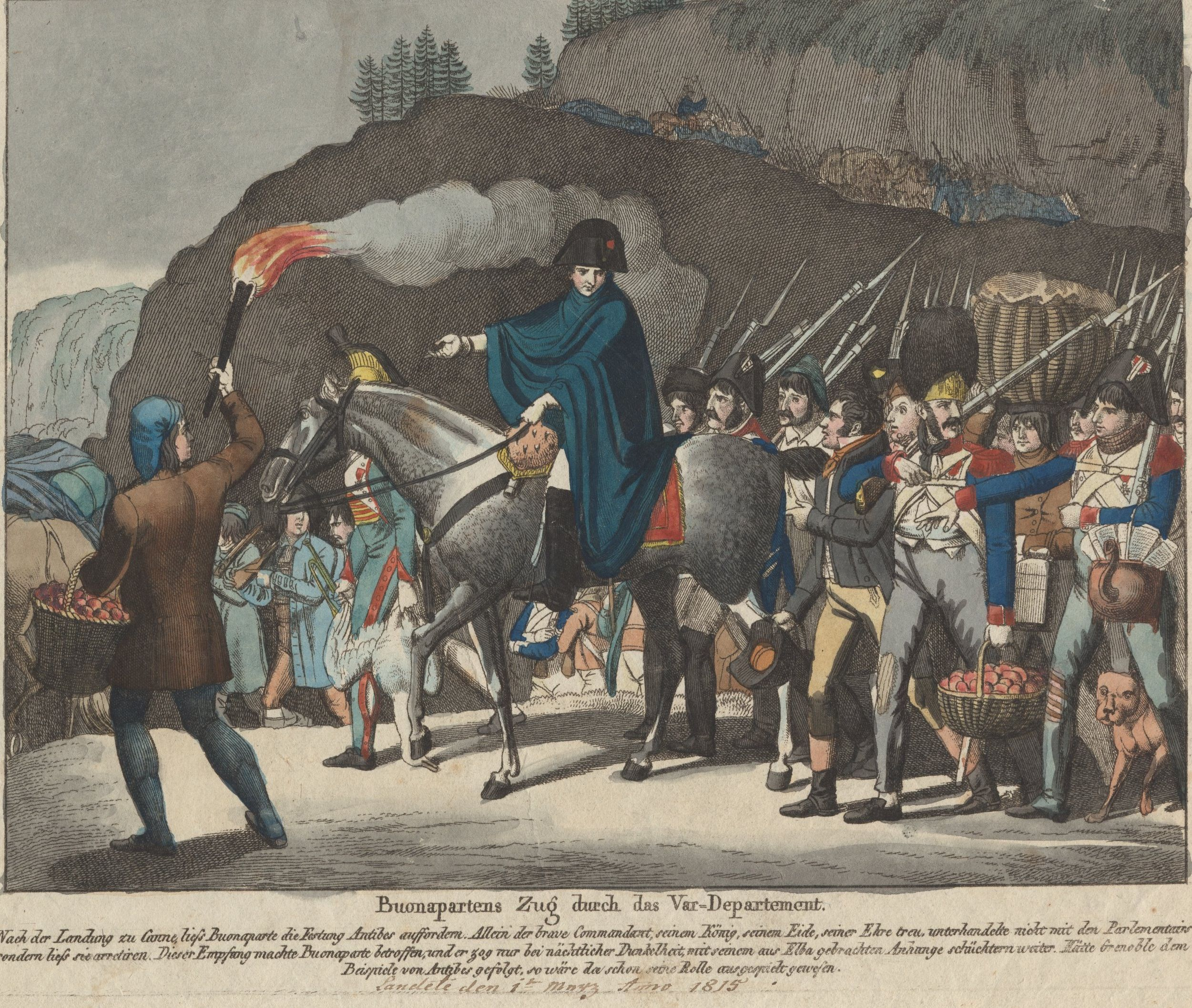 The total numbers of the French Army Soldiers and noncommissioned officers.    At its height in 1812 consisted of 554.500 men:      300.000 Frenchmen and Dutchmen,             95.000 Poles,    35.000  Austrians,    30.000  Italians,    24.000  Bavarians,    20.000  Saxons,    20.000  Prussians,   17.000  Westphalians,    15.000  Swiss    6.000  Portuguese    3.500  Croats