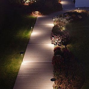 Modern Solar Landscape Path Lights