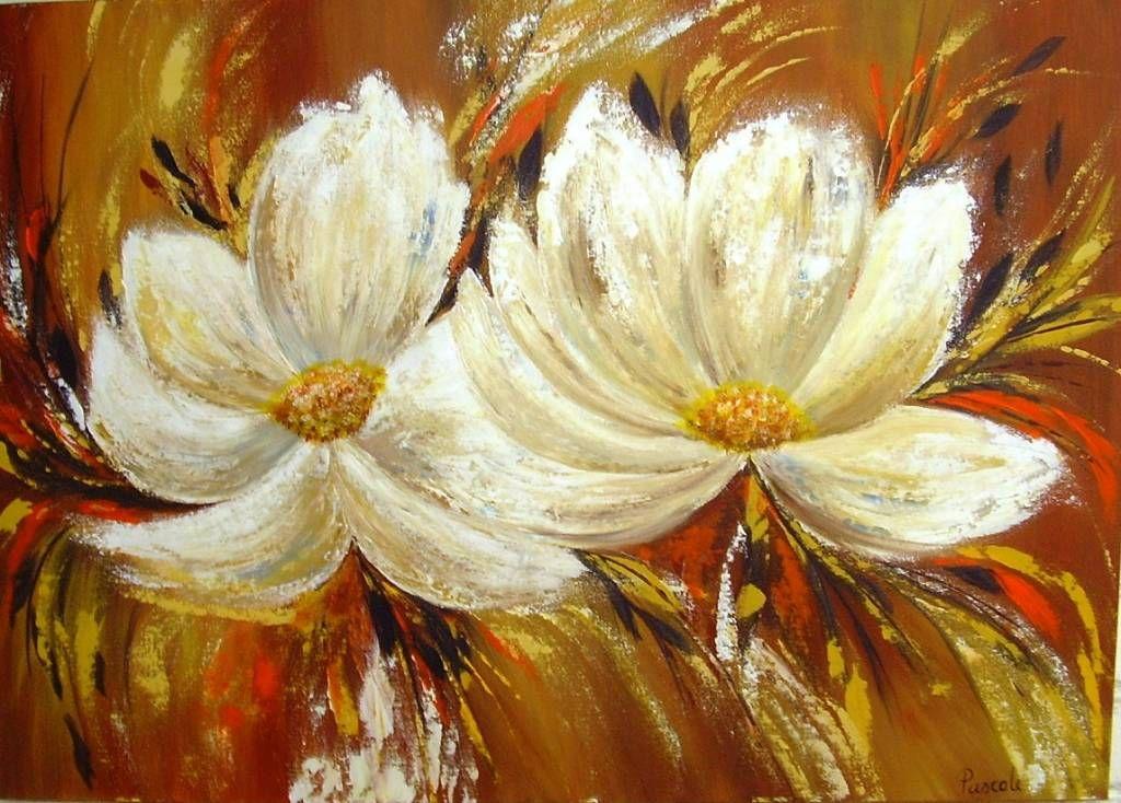 5849732780929007 Jpg 1024 734 Flores Pintadas Pinturas Cuadro De Flores