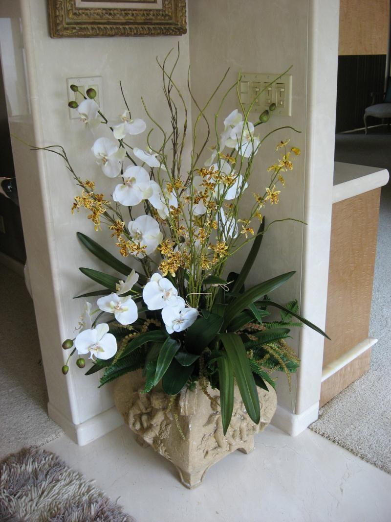 Imagen relacionada creadecor interiores arreglos - Arreglos florales artificiales para casa ...