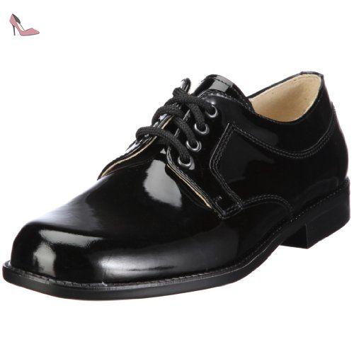 Chaussures à lacets noires garçon HuLYxC1cP