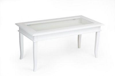 Tavolino Classico Apribile da Salotto Shabby Chic