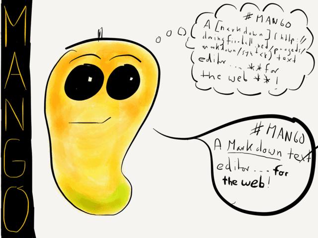 Mango — a new Markdown editor web app | Markdown, Web app ...