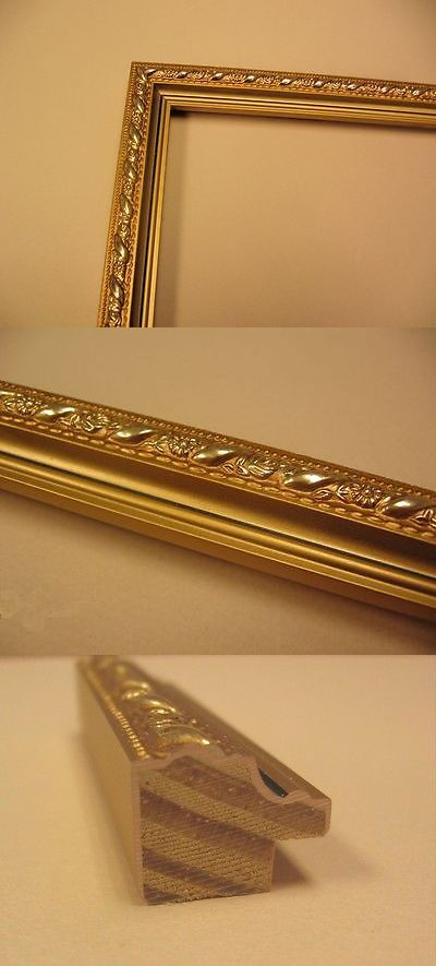 Frames And Supplies 37575 Gold Picture Frame Moulding 72 Feet