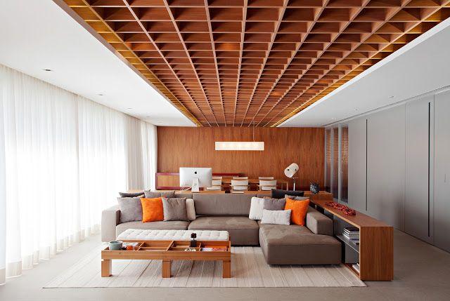 Interiores MarinaFGO: Apartamento Jardim Europa de Perkins + Will