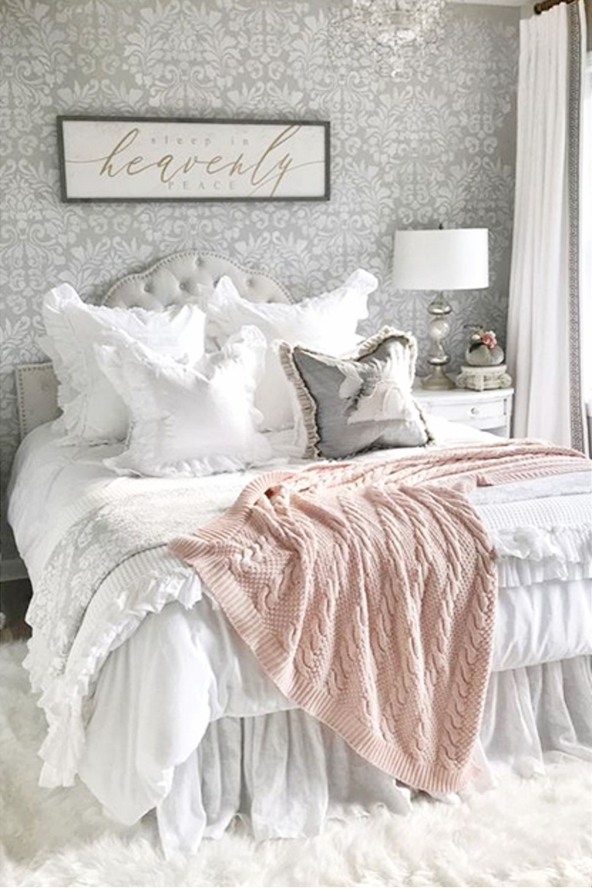 Blush Pink Bedroom Ideas Dusty Rose Bedroom Decor And Bedding I Love Clever Diy Ideas Dusty Pink Bedroom Rose Bedroom Pink Bedrooms