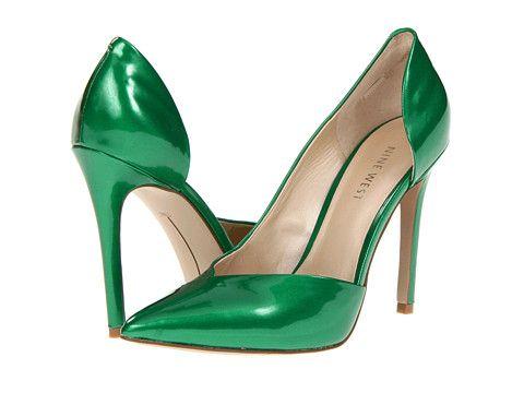 Nine West Goulding | Green heels, Green