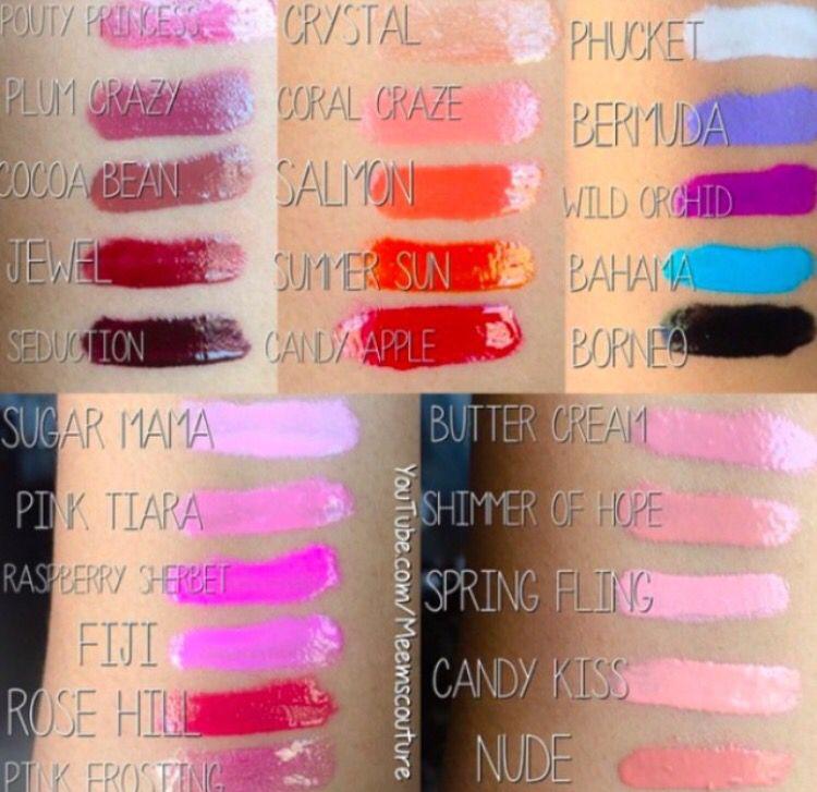 Gerard Cosmetics Lip Gloss Swatches Makeup Beauty Makeup Gerard