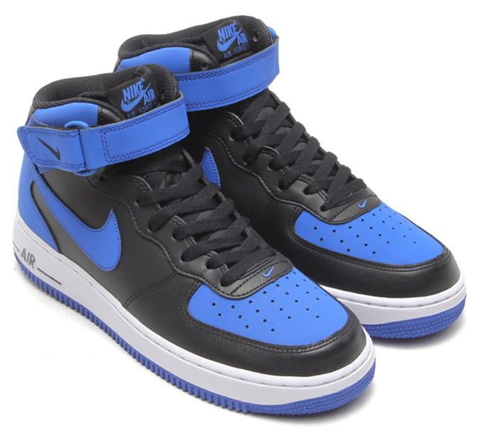 blue white air force jordans shoes