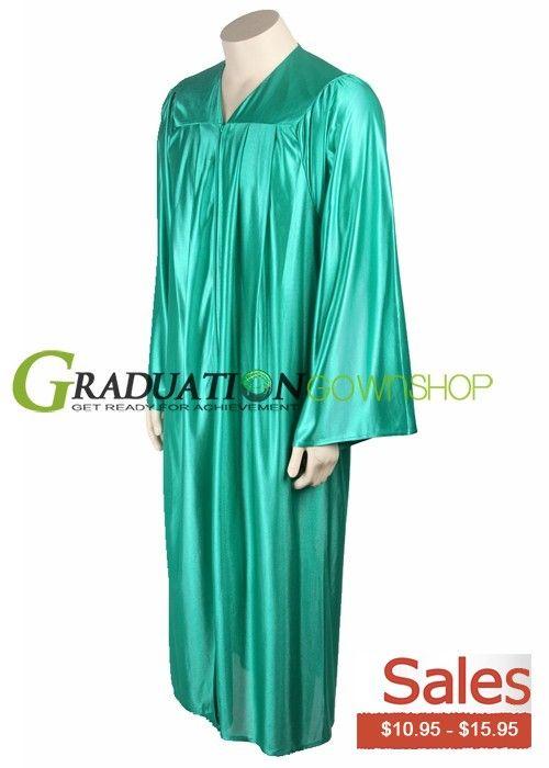 Kelly Green High School Graduation Gown-- $10.95 - $15.95 ...