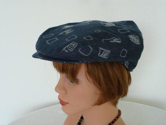 Newsboy Paperboy Flat Cap Gatsby 100% Cotton by MermaidsHatbox