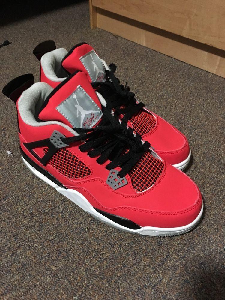c3da13f1f3cee6 Retro Air Jordan 4 Toro Bravo Size 11  fashion  clothing  shoes  accessories   mensshoes  athleticshoes (ebay link)
