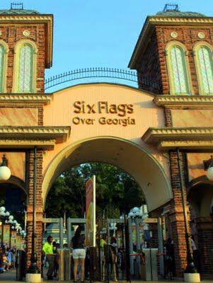 Pinoy Amerika Six Flags Over Georgia Six Flags Vacation Places Atlanta