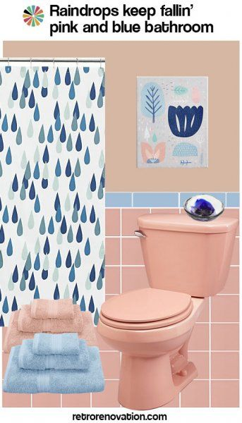 99 Ideas To Decorate A Pink Bathroom Complete Slide Show Pink