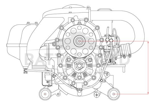 Aircraft engine diagram (Mid West Engines) (With images