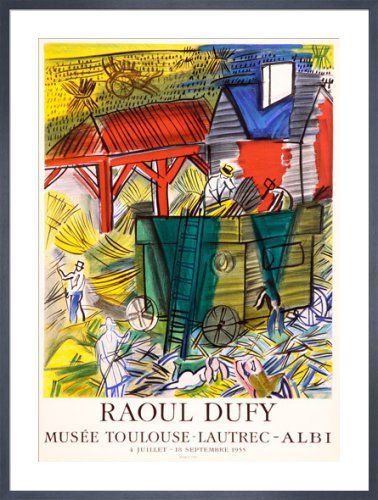 Musee Toulouse-Lautrec by Raoul Dufy - art print from King