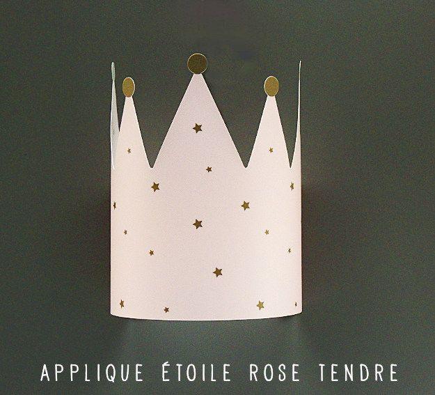 Applique Murale Etoile Pour Chambre Fille Rose Et Grise Lampe