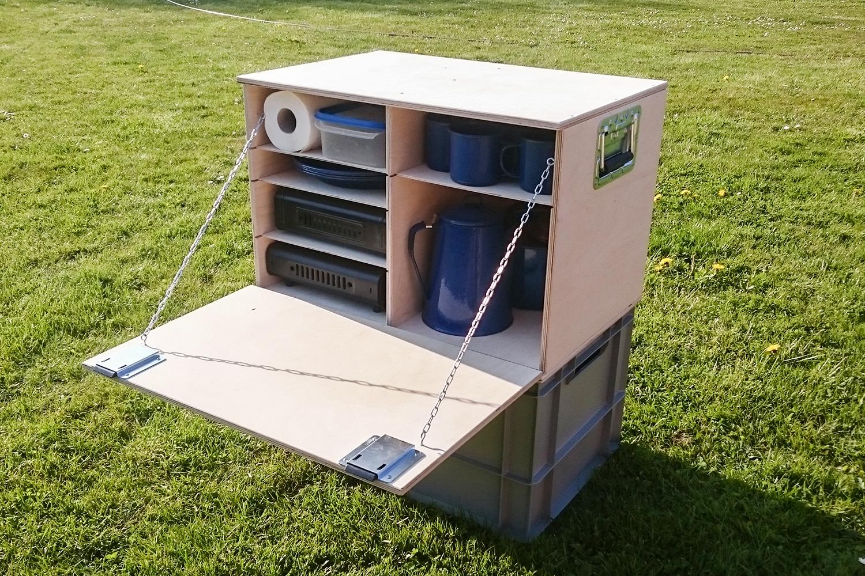 Outdoorküche Bausatz Crafter : Chuck box bausatz willi wood camping chuck box campingbus