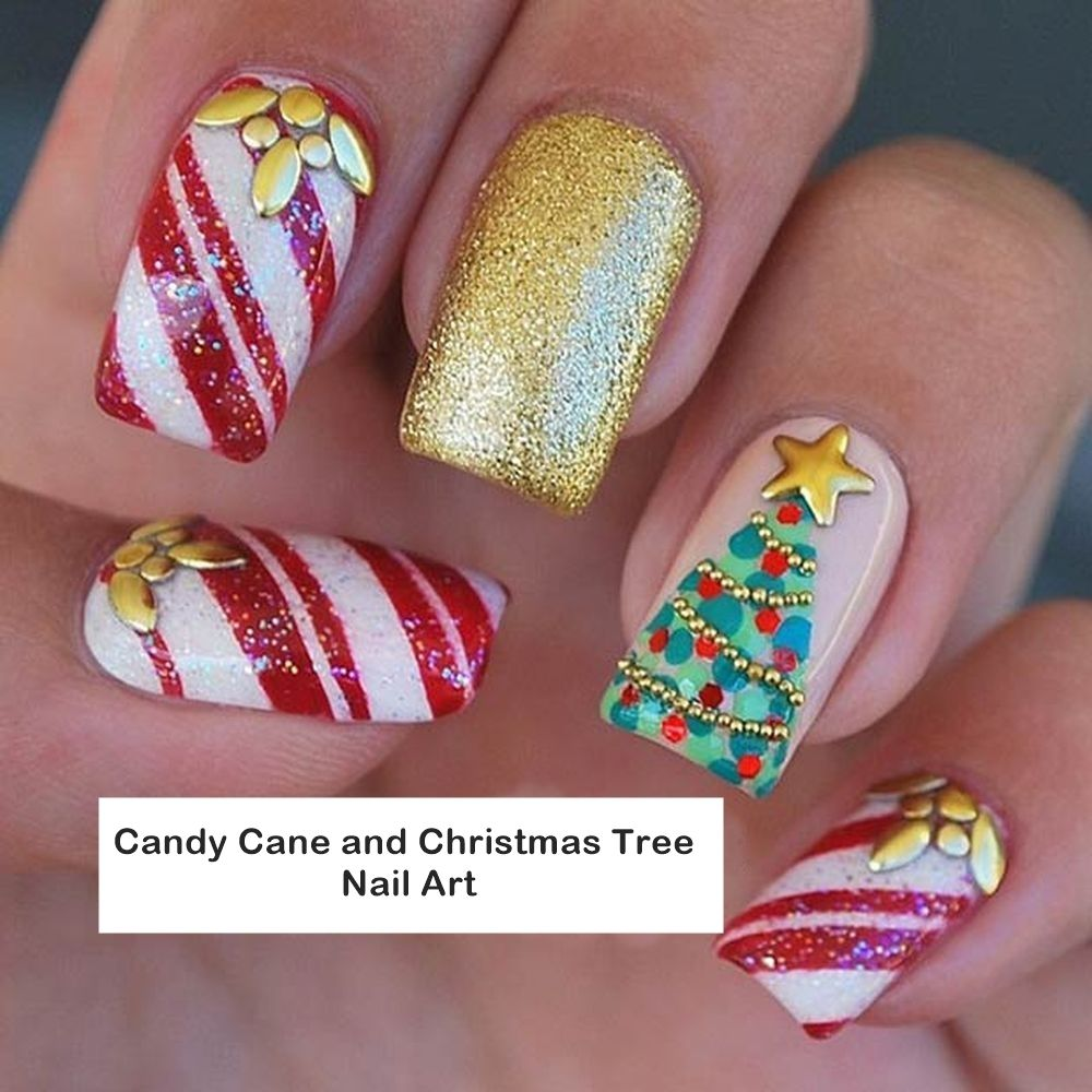Photo of 25 Fantastic Nail Art Galleries for Christmas