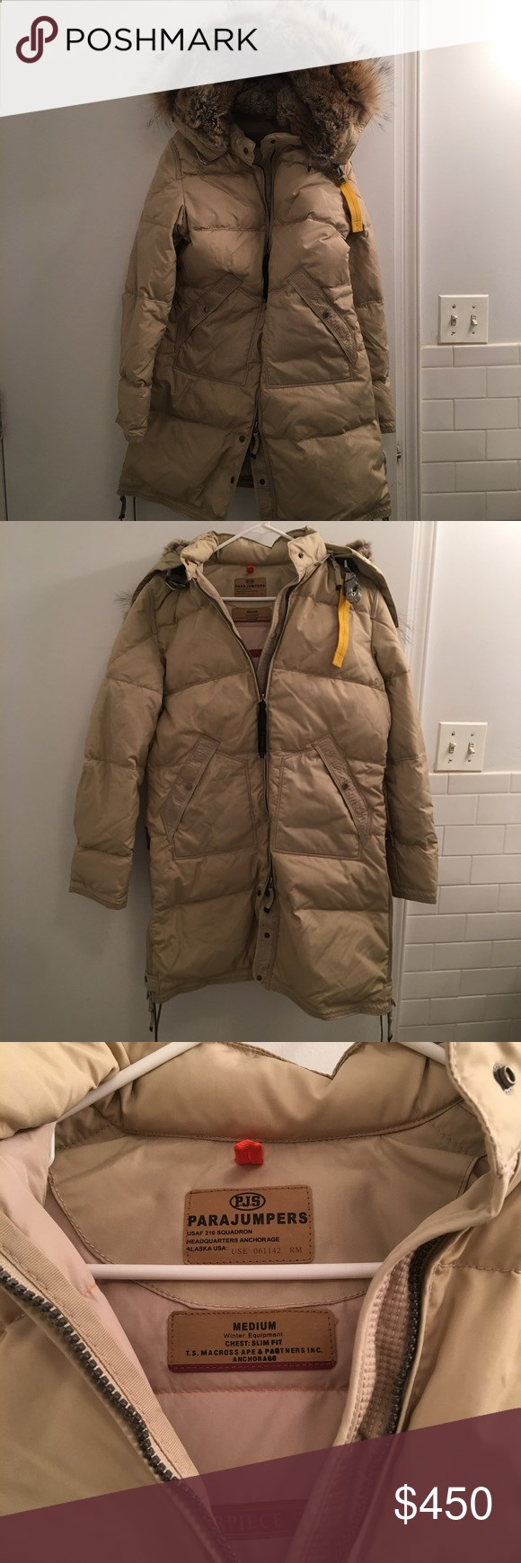 b9c0c71f sweden parajumpers woman jackets parkas knitwear pjs 31118 91ce5; new  zealand parajumpers coat masterpiece medium great coat.. worn once or twice  at most