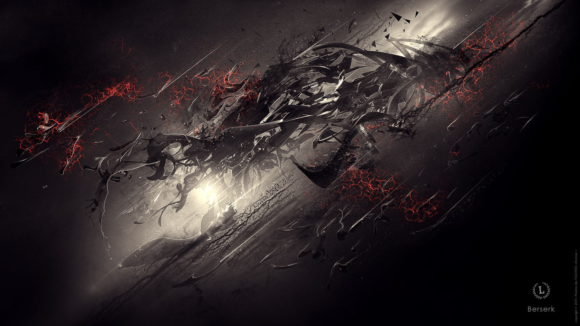 Download Berserk Tattoo Design Free Wallpaper 1920x1080 Full Hd Dark Wallpaper Abstract Wallpaper Dark Anime
